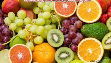 Vết thương hở nên ăn trái cây gì Top 11 trái nên ăn