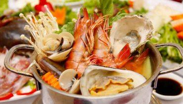 Bị bỏng có ăn ốc, cua, tôm, cá, hải sản được không?