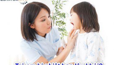 Trẻ Em bị nhiệt miệng bao lâu thì khỏi, Nên ăn gì, uống gì?