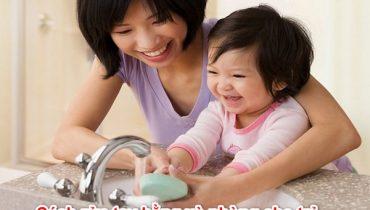 Cách rửa tay bằng xà phòng cho trẻ ngừa virus Covid 19
