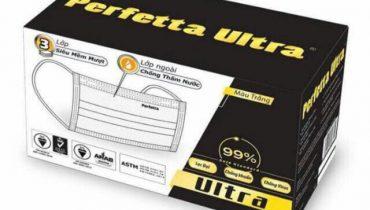 Khẩu trang Perfetta Ultra Carbon 3 lớp, 4 lớp có tốt không?
