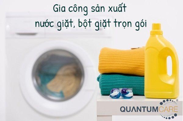 Bảng giá gia công sản xuất nước giặt, bột giặt trọn gói 2021